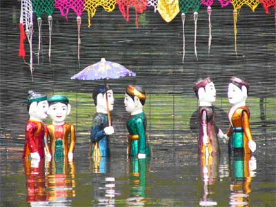 Beautiful Water Puppetry from Vietnam