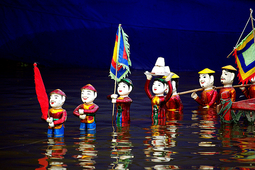 Water Puppetry
