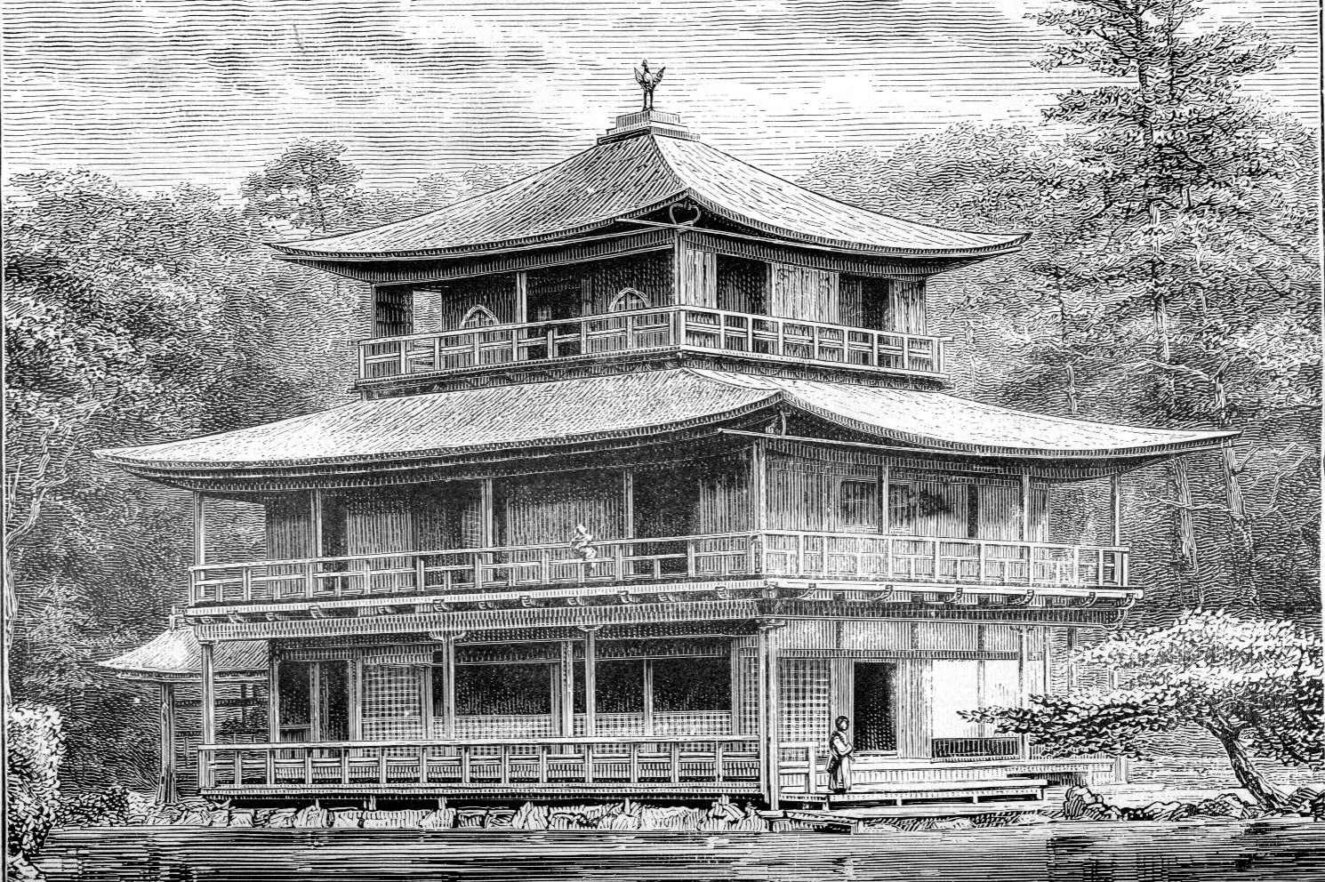 Japanese Mansion c1888