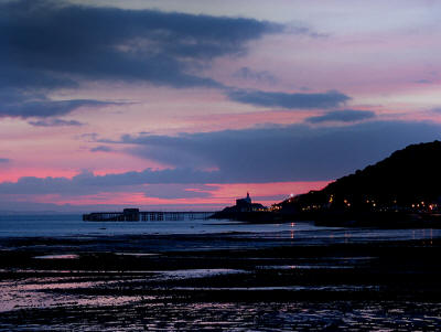 Sunrise over Mumbles Head