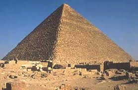 Cheops, the great pyramids
